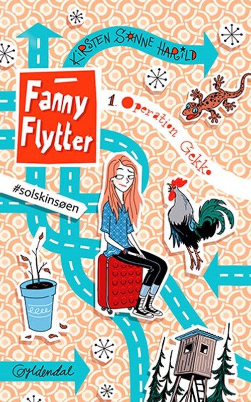 Billede af Fanny Flytter 1 - Operation Gekko - Kirsten Sonne Harild - Bog