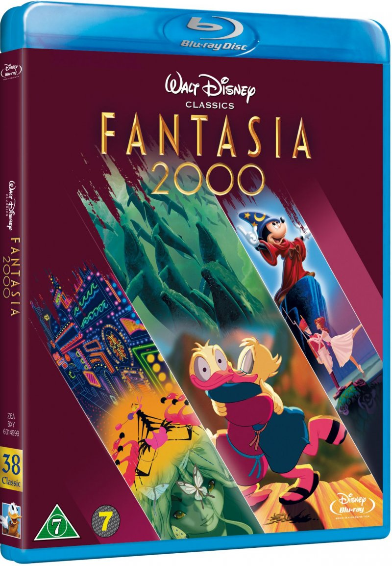 Image of   Fantasia 2000 - Specialudgave - Disney - Blu-Ray