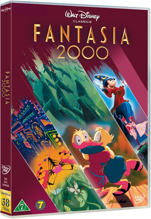 Image of   Fantasia 2000 - Specialudgave - Disney - DVD - Film