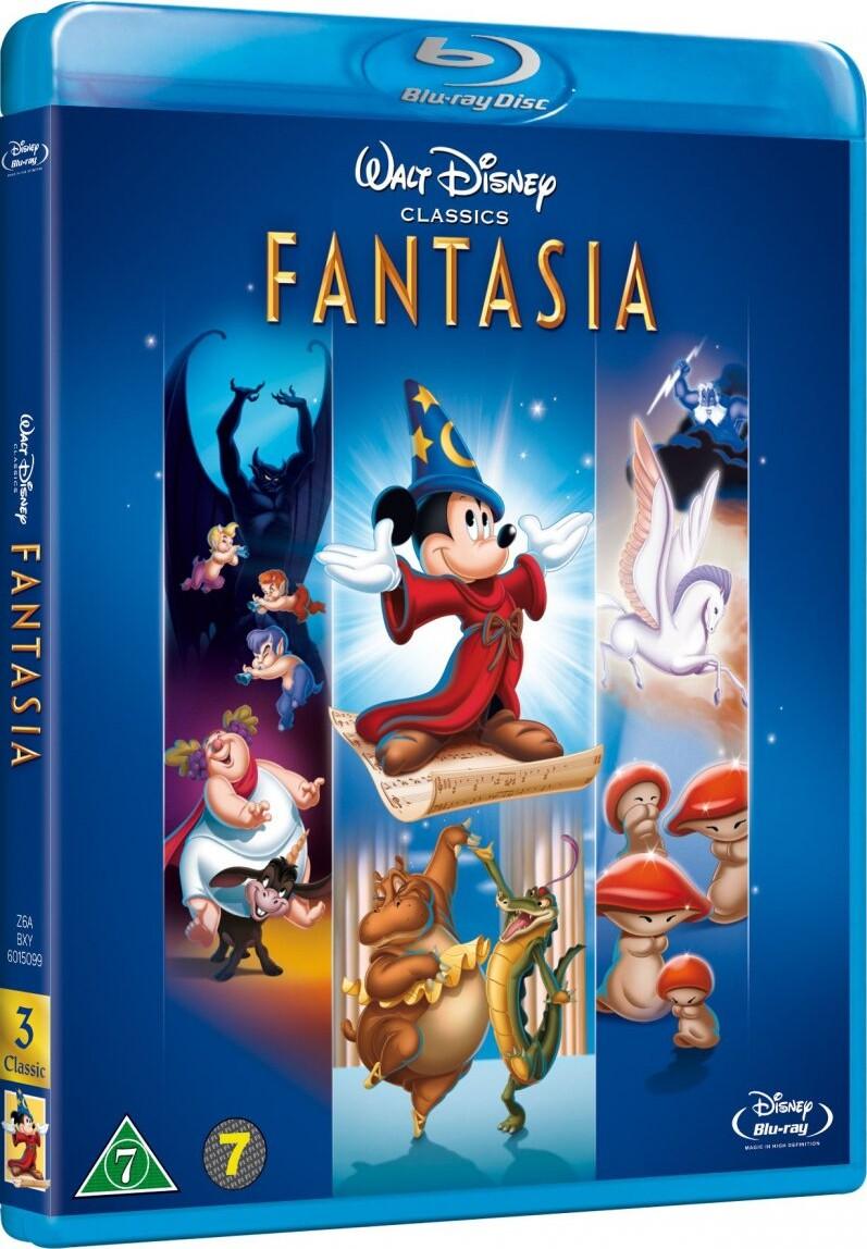 Image of   Fantasia - Disney - Blu-Ray