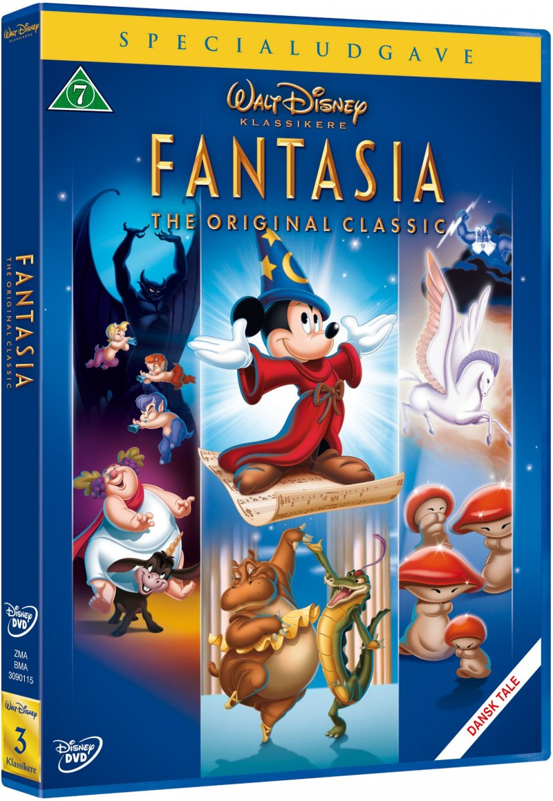 Image of   Fantasia - Specialudgave - Disney - DVD - Film