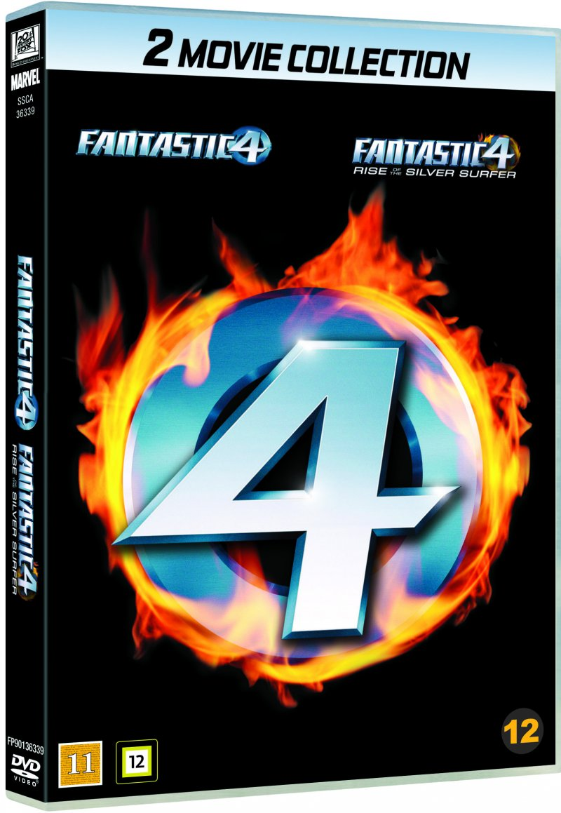 Image of   Fantastic Four // Fantastic Four 2: Rise Of The Silver Surfer - DVD - Film