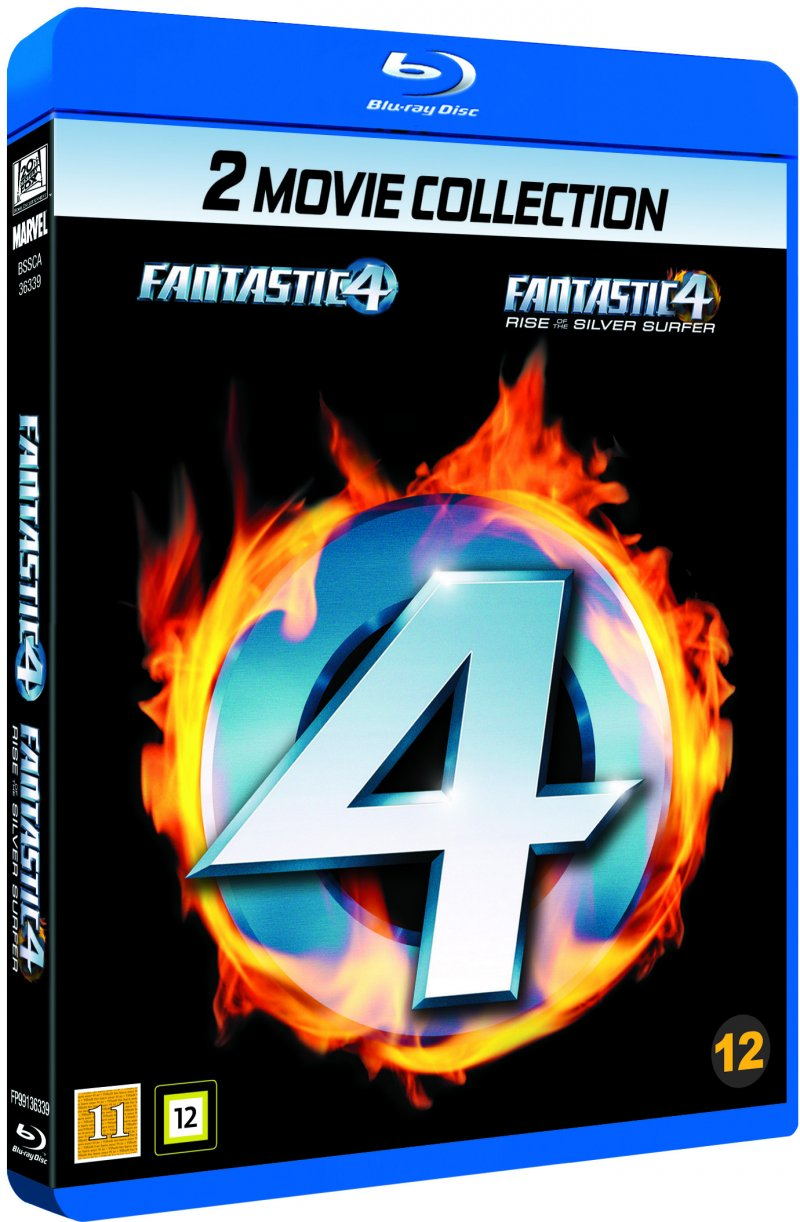 Image of   Fantastic Four // Fantastic Four 2: Rise Of The Silver Surfer - Blu-Ray