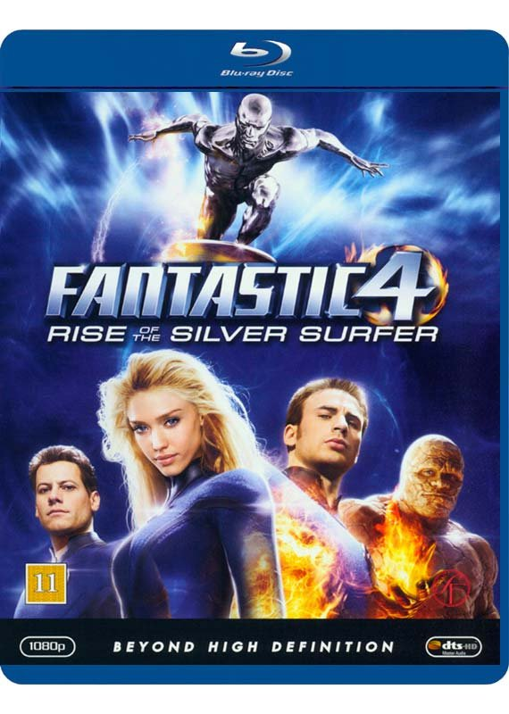 Image of   Fantastic Four 2 Rise Of The Silver Surfer - Blu-Ray