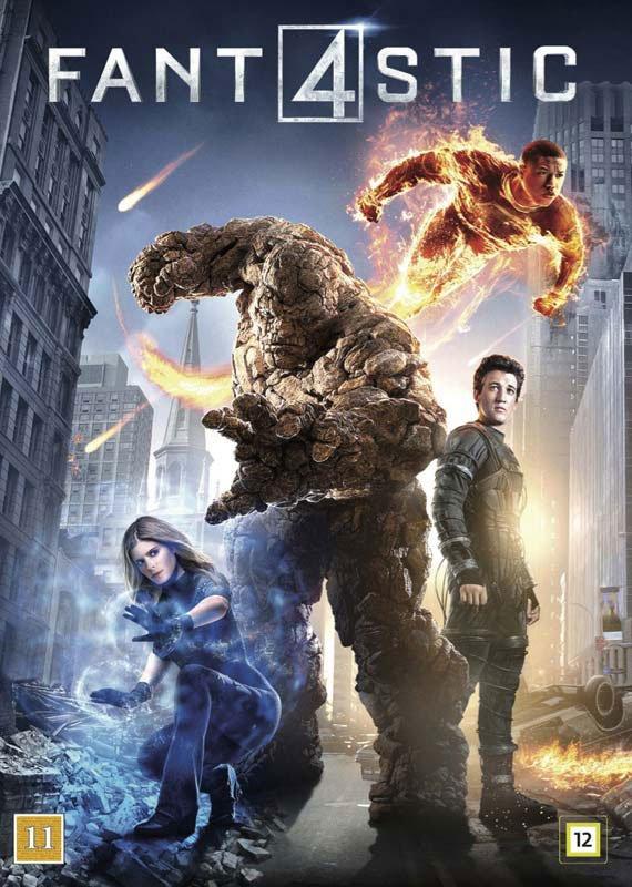 Image of   Fantastic Four / Fantastiske 4 - 2015 - DVD - Film