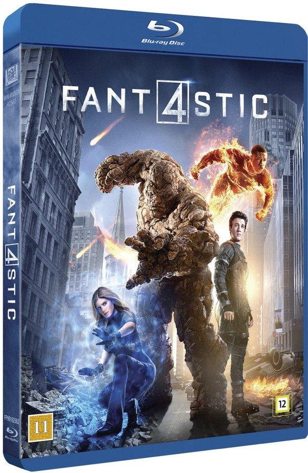 Image of   Fantastic Four / Fantastiske 4 - 2015 - Blu-Ray