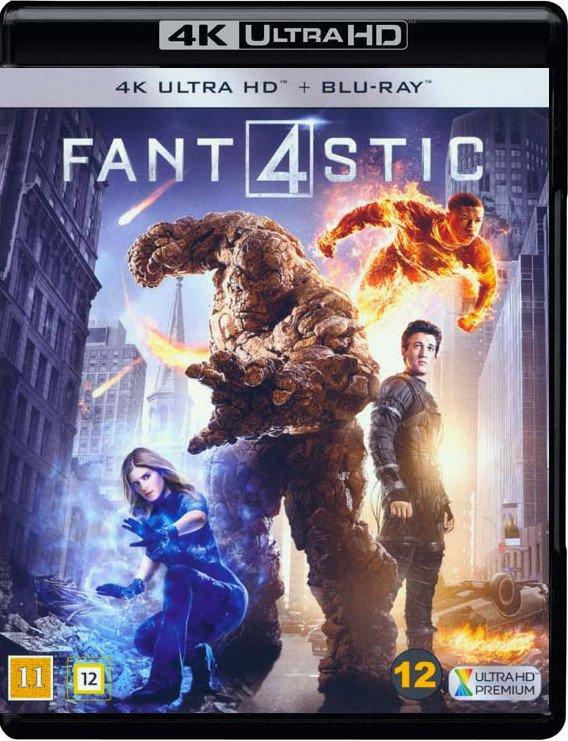 Image of   Fantastic Four - 4K Blu-Ray