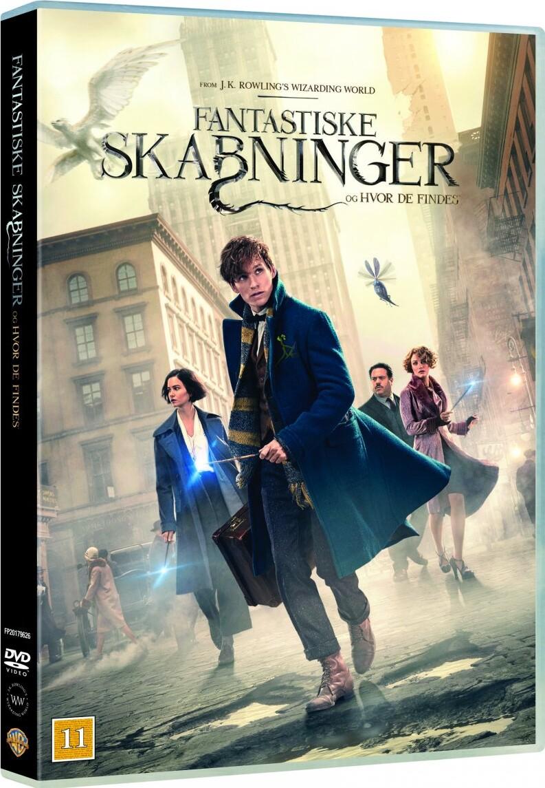 Image of   Fantastic Beasts And Where To Find Them / Fantastiske Skabninger Og Hvor De Findes - DVD - Film