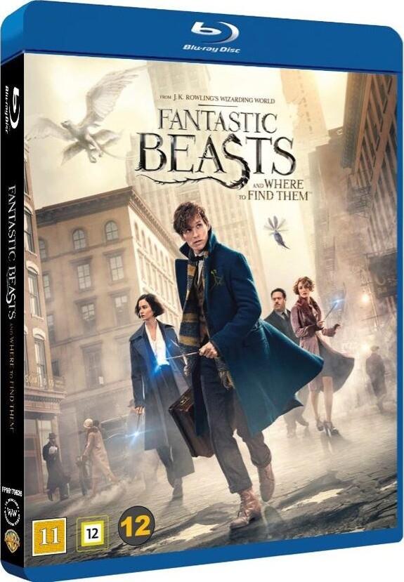 Image of   Fantastic Beasts And Where To Find Them / Fantastiske Skabninger Og Hvor De Findes - Blu-Ray