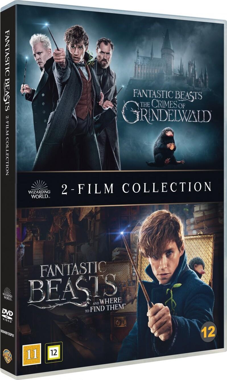Fantastiske Skabninger 1 2 Fantastic Beasts 1 2 Dvd Film Kob Billigt Her Gucca Dk