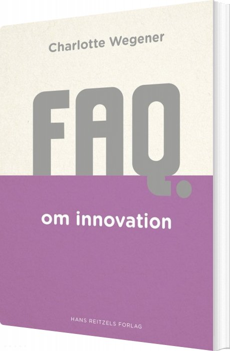 Image of   Faq Om Innovation - Charlotte Wegener - Bog
