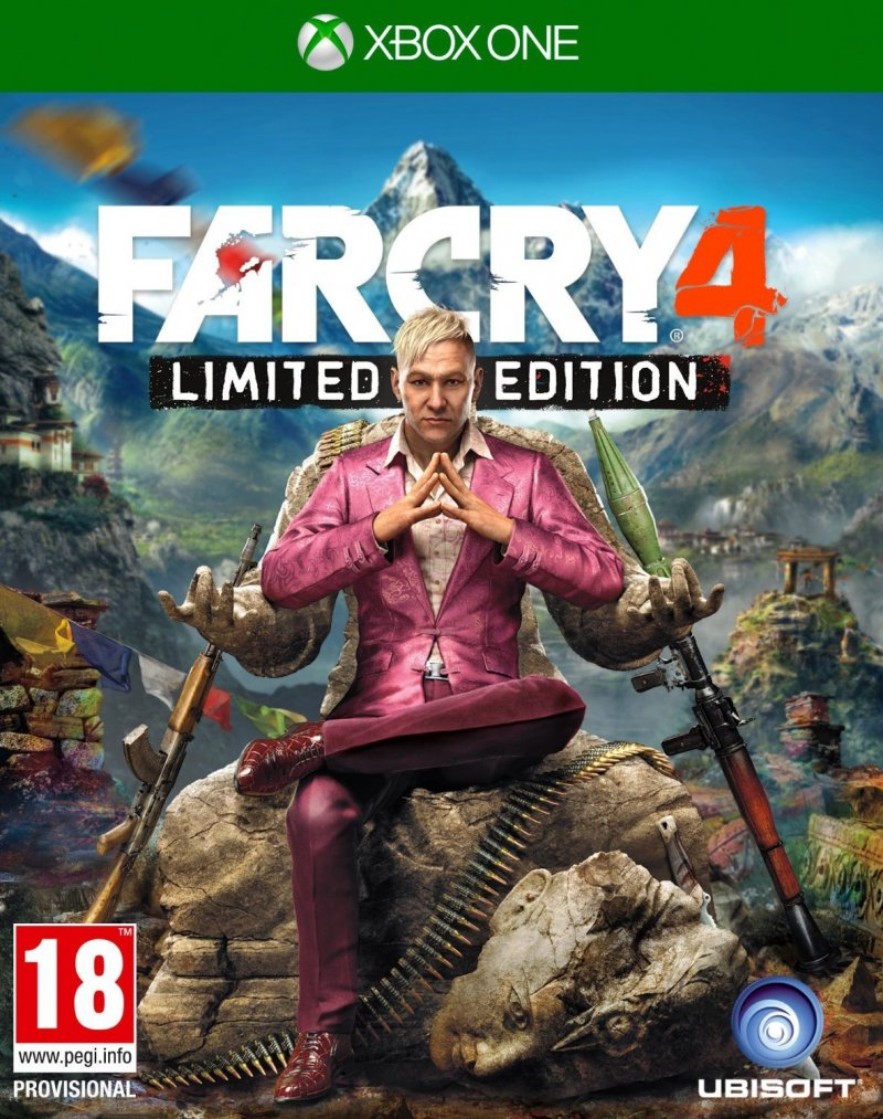 Image of   Far Cry 4 - Limited Edition - Xbox One