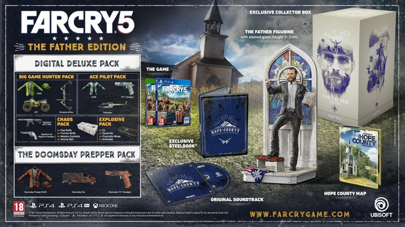 Image of   Far Cry 5 - Father Edition - Xbox One