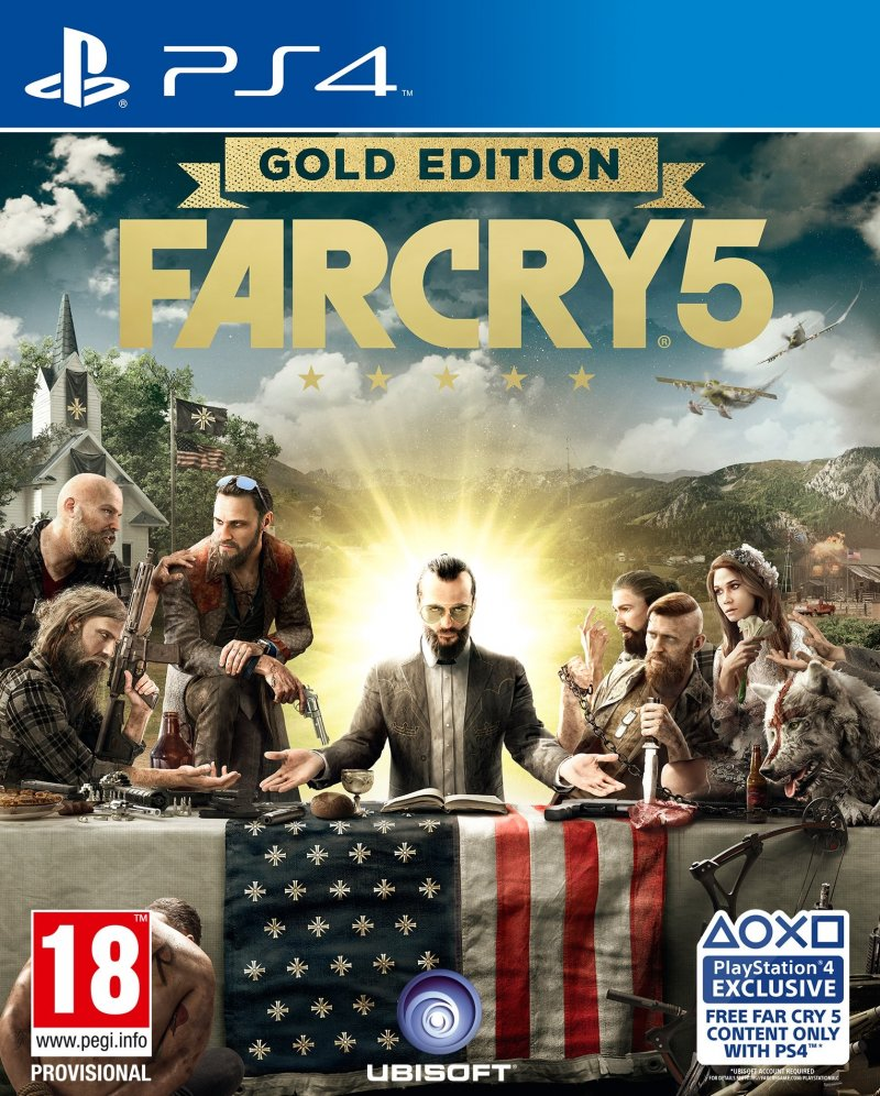 Image of   Far Cry 5 - Gold Edition - PS4