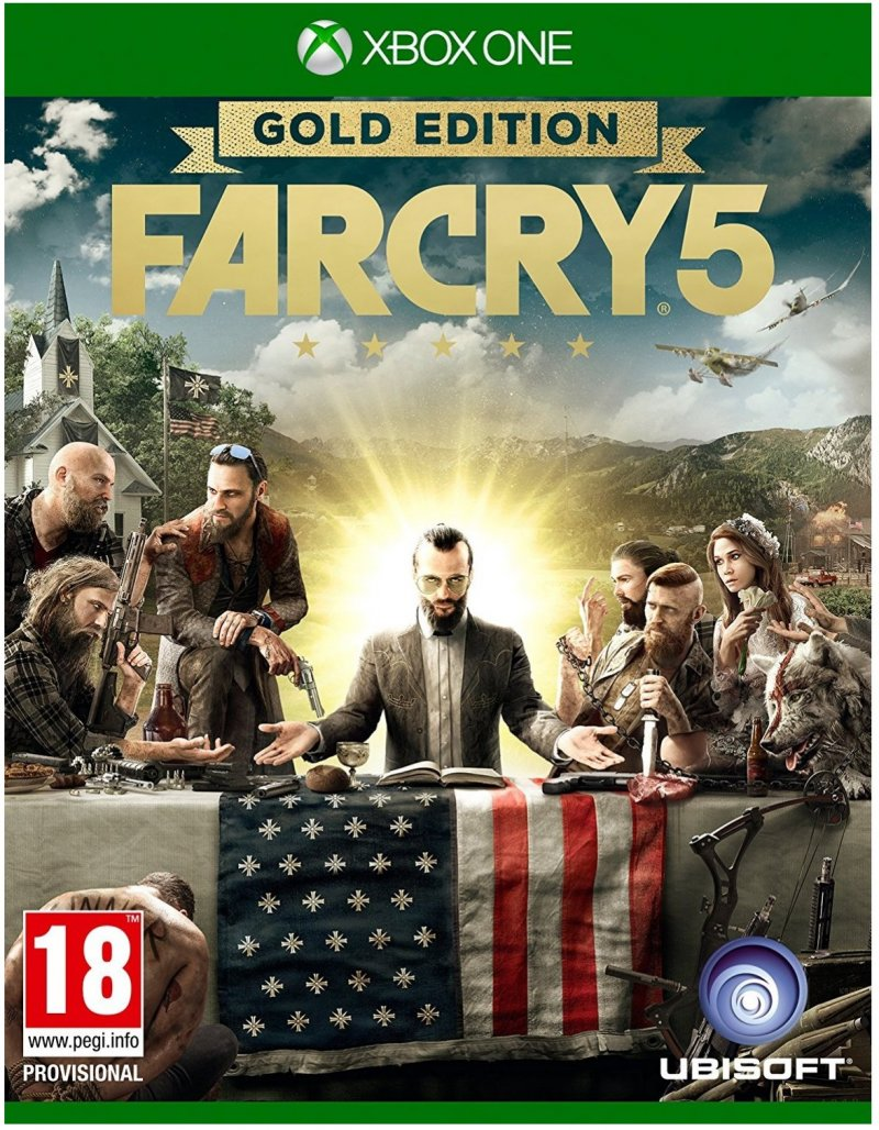 Image of   Far Cry 5 - Gold Edition - Xbox One