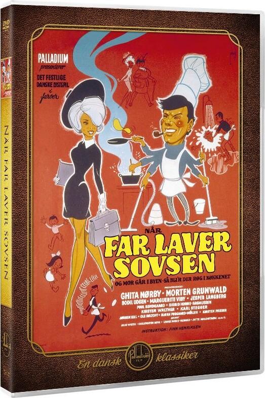 Image of   Far Laver Sovsen - DVD - Film