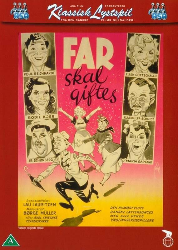 Image of   Far Skal Giftes - DVD - Film