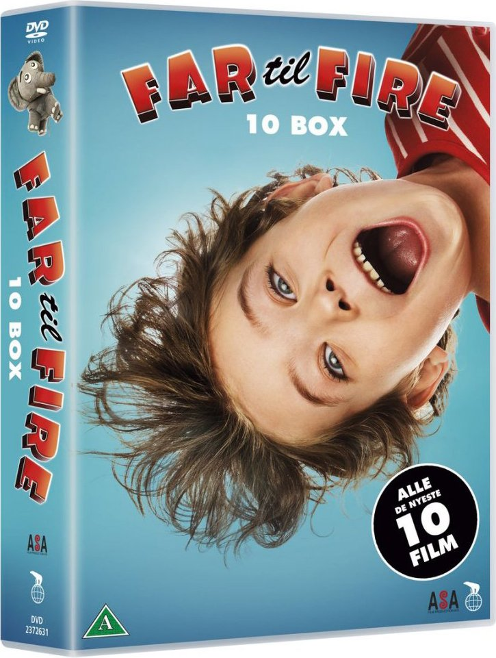 Image of   Far Til Fire - 10 Dvd Boks - DVD - Film