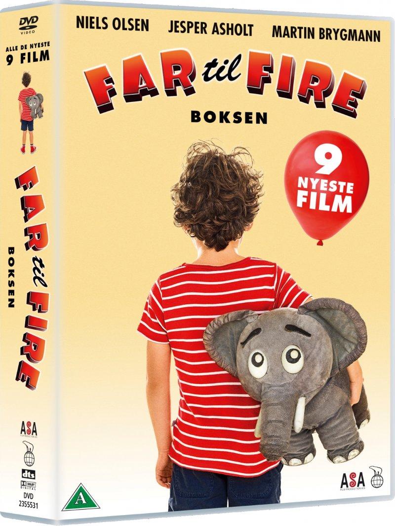 Billede af Far Til Fire Boks - De 9 Nyeste Film - DVD - Film