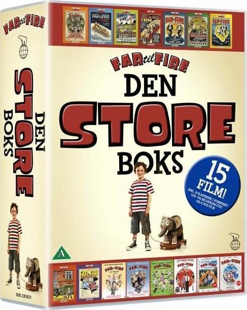 Billede af Far Til Fire Boks / Box - DVD - Film