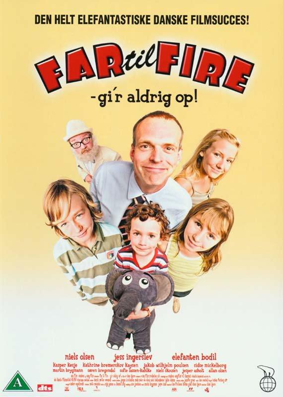 Image of   Far Til Fire Giver Aldrig Op - DVD - Film