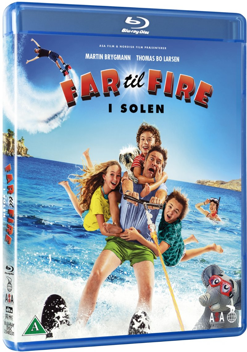 Image of   Far Til Fire I Solen - 2018 - Blu-Ray