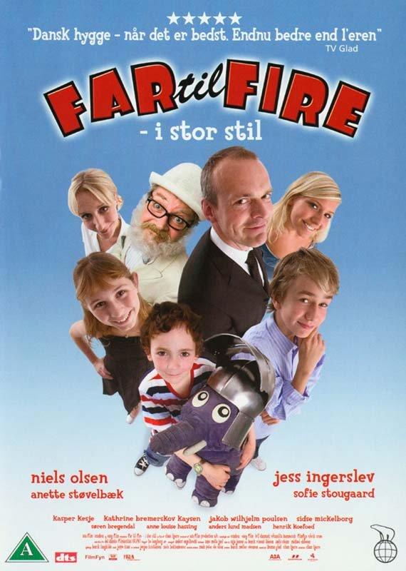 Image of   Far Til Fire I Stor Stil - DVD - Film
