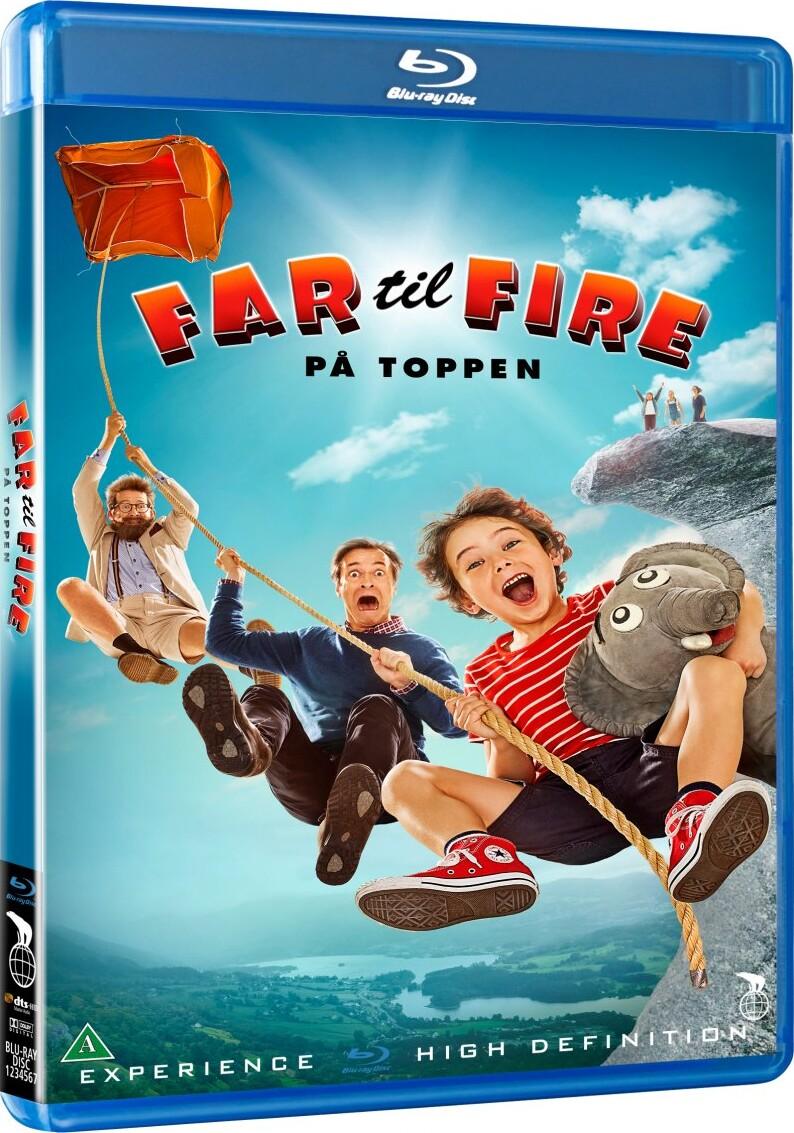 Image of   Far Til Fire På Toppen - Blu-Ray