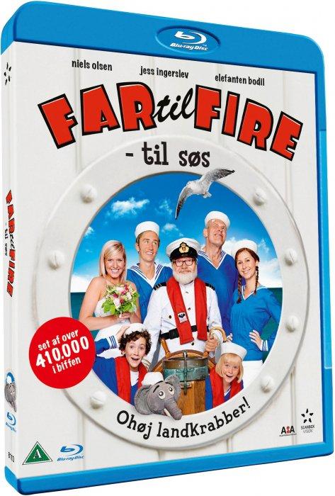 Image of   Far Til Fire - Til Søs - Blu-Ray