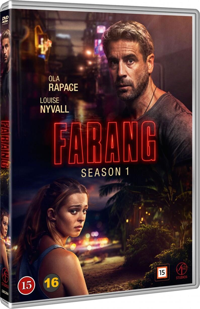 Image of   Farang - Sæson 1 - DVD - Tv-serie