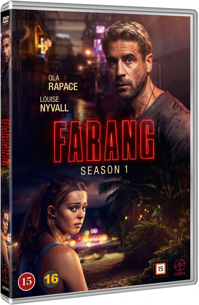 Image of   Farang - Sæson 1 - DVD - Tv-serie