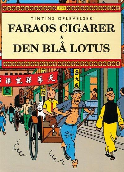 Billede af Faraos Cigarer Den Blå Lotus - Hergé - Tegneserie