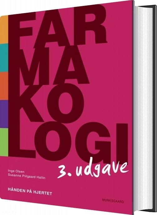 Image of   Farmakologi - Hånden På Hjertet - Susanne Piilgaard Hallin - Bog