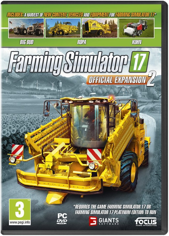 Image of   Farming Simulator 17 - Official Expansion 2 - PC