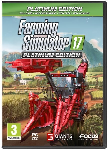 Image of   Farming Simulator 17 / 2017 - Platinum Edition - PC