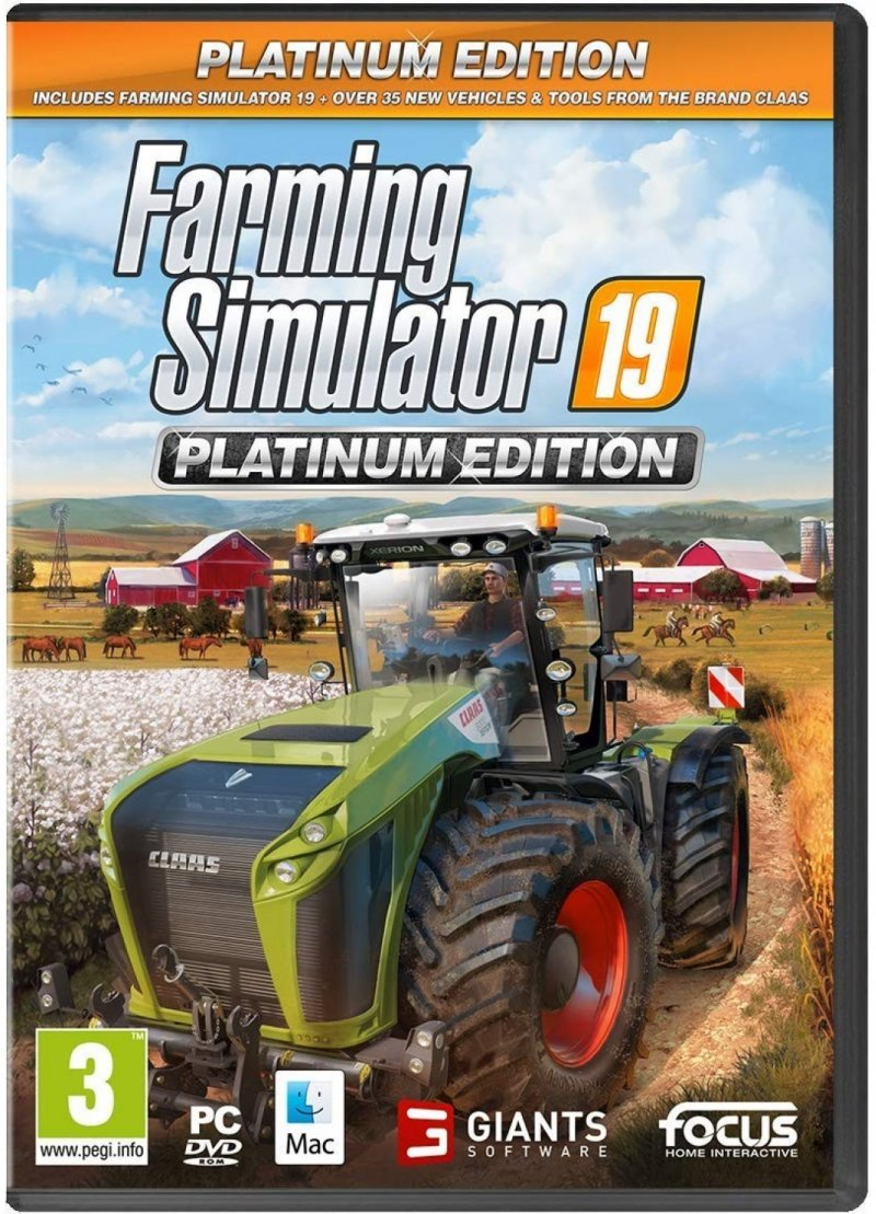 Image of   Farming Simulator 19 / 2019 - Platinum Edition - PC