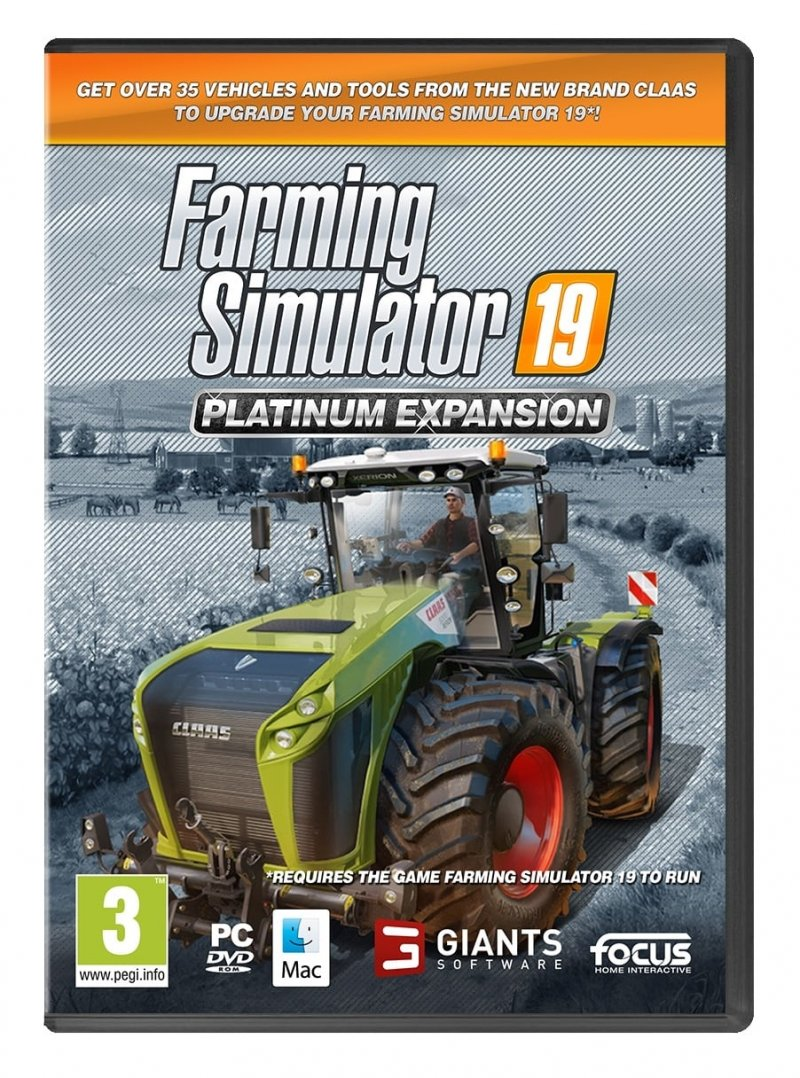 Image of   Farming Simulator 19 / 2019 - Platinum Expansion - PC