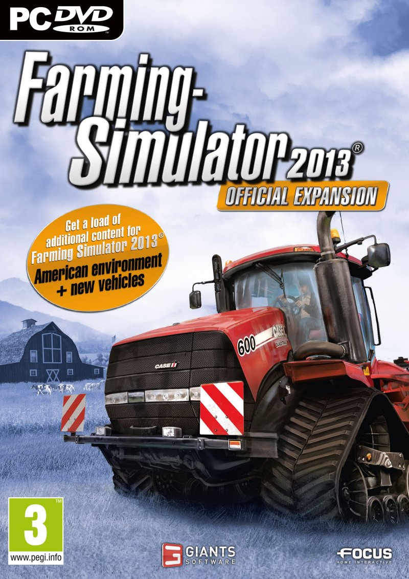 Image of   Farming Simulator 2013 Add-on - Dk - PC