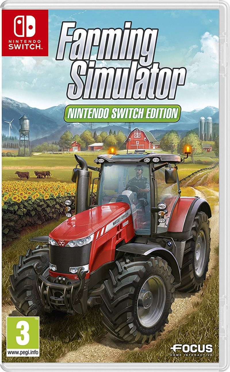 Farming Simulator: Nintendo Switch Edition - Nintendo Switch