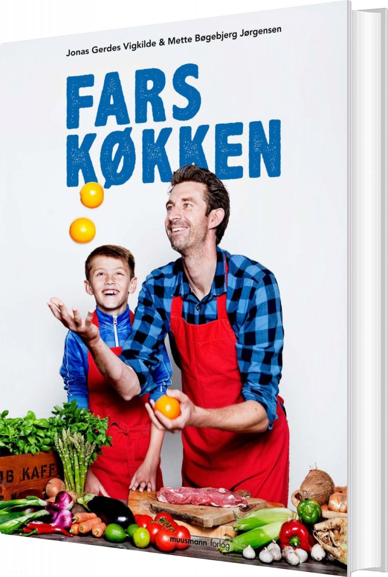 Fars Køkken - Jonas Gerdes Vigkilde - Bog