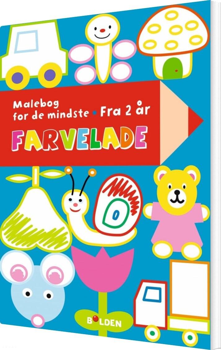malebog, småbørn, kreativitet