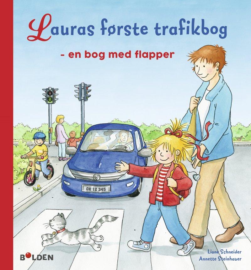 Image of   Lauras Første Trafikbog - Anna Llenas - Bog