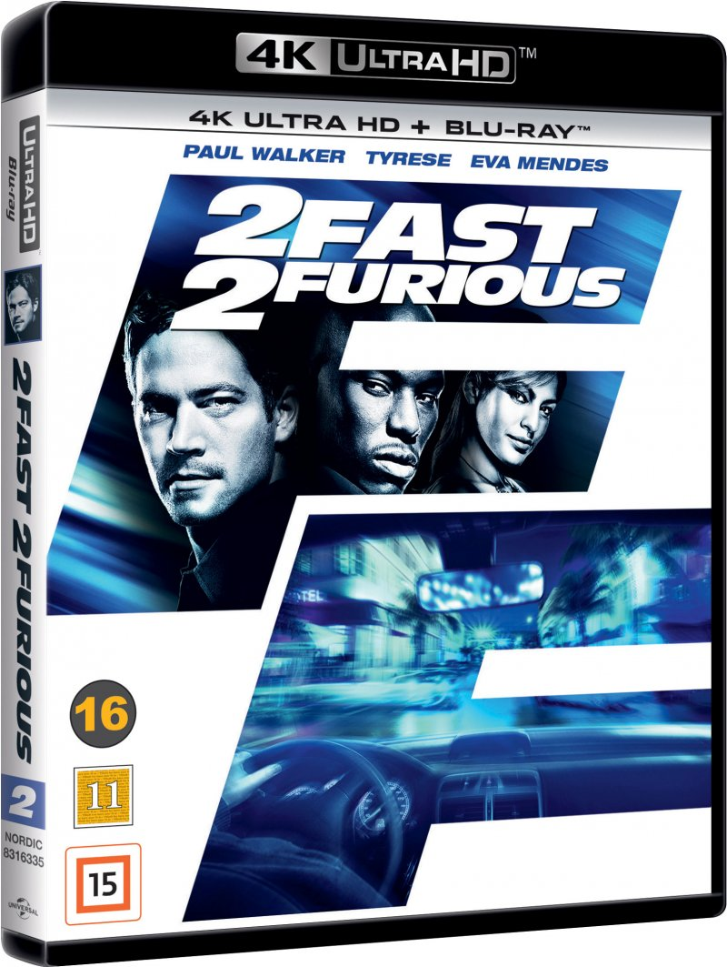 Image of   Fast And Furious 2 / 2 Fast 2 Furious - 4K Blu-Ray