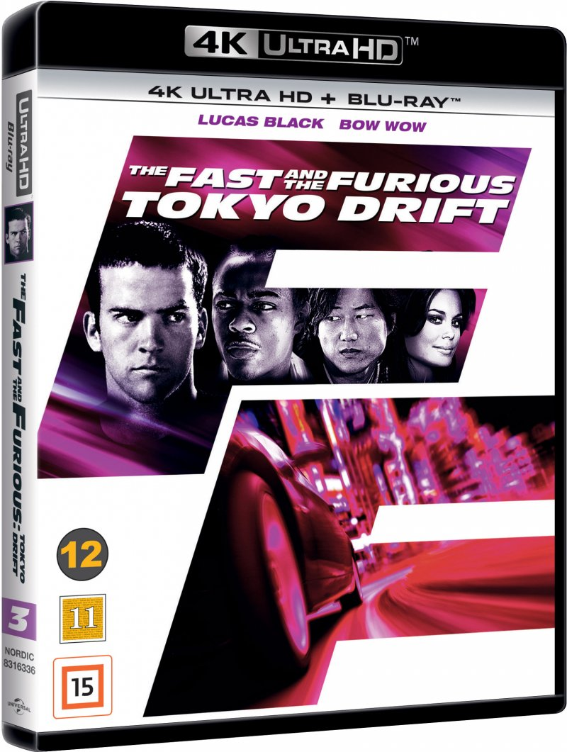 Image of   The Fast And The Furious 3 - Tokyo Drift - 4K Blu-Ray