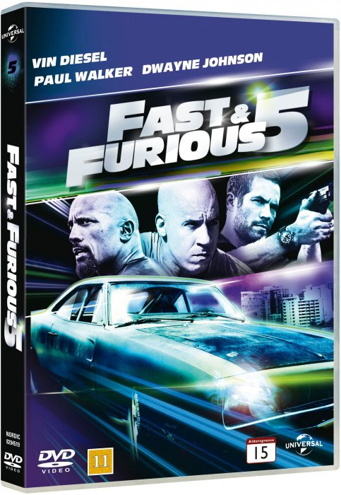 Fast And Furious 5 - DVD - Film