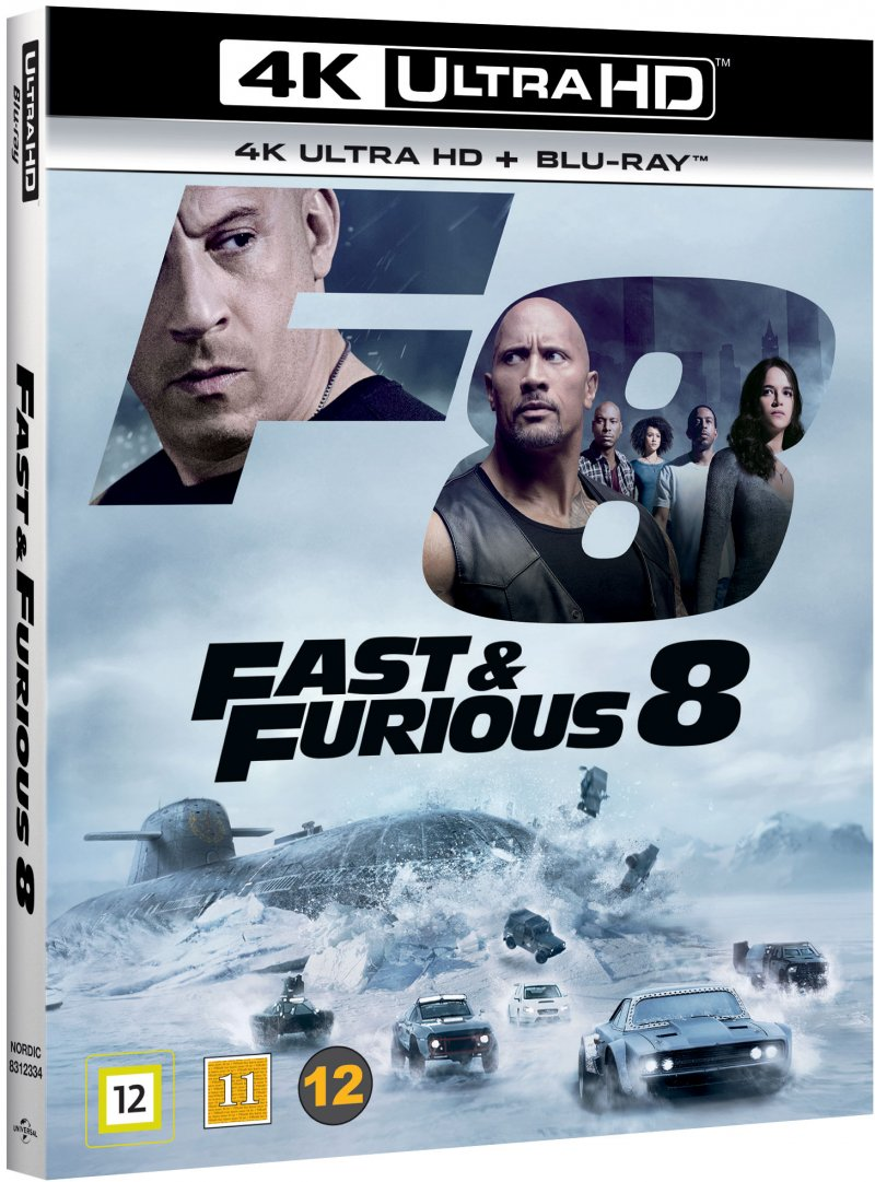 Image of   Fast And Furious 8 - 4K Blu-Ray