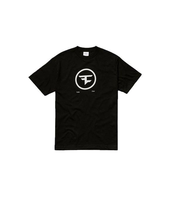 Image of   Faze Clan T-shirt Med Cirkel Logo I Sort - L