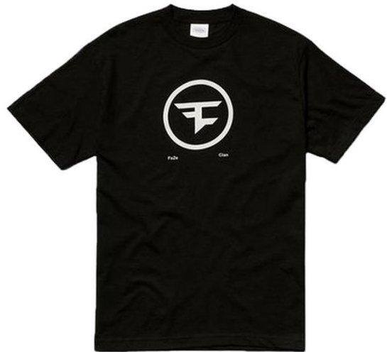 Image of   Faze Clan T-shirt Med Cirkel Logo I Sort - M