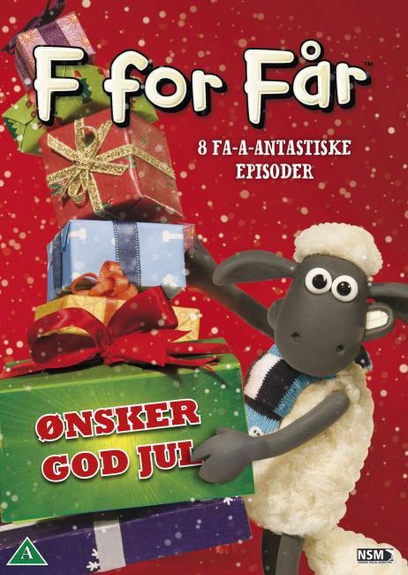 Image of   F For Får / Shaun The Sheep - ønsker God Jul - DVD - Film