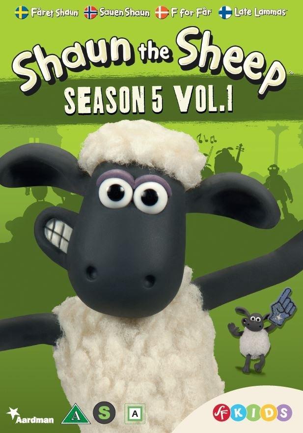 Billede af F For Får - Sæson 5 Vol. 1 - DVD - Film